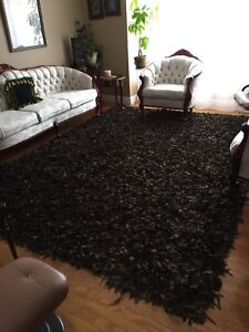 Suede carpet one of a kind