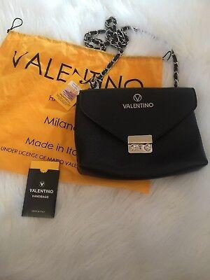 NEW Valentino by Mario Valentino Italian Leather Handbag Purse Isabelle