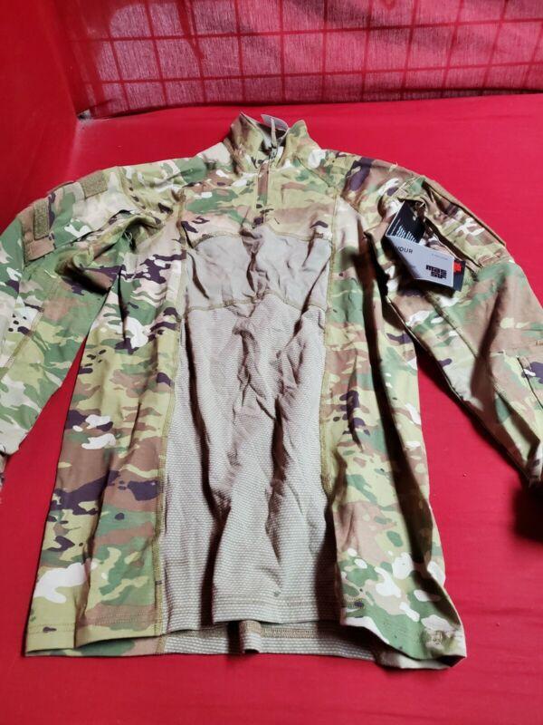 Multicam Army Combat Shirt Type II ACS Medium Flame Resistant 1/4 Zippered NWT