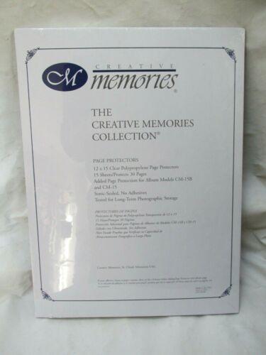Creative Memories 12x15 Page Protectors NIP