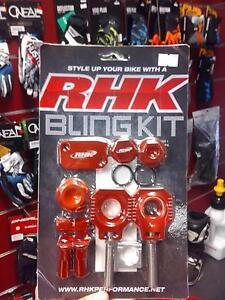 RHK BLING KIT - KTM SX SXF EXC, HUSABERG, HUSQVARNA  RHK-BK37 Kilburn Port Adelaide Area Preview