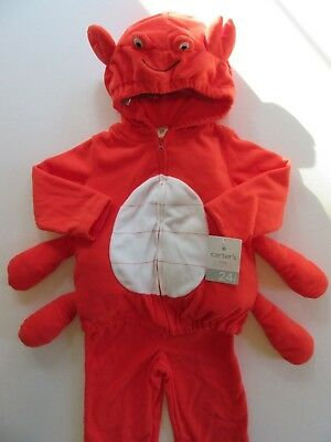 Red Lobster 3-6mo Halloween Trick or Treat Baby Infant Childs Costume MSRP = $40 (Infant Lobster Halloween Costume)