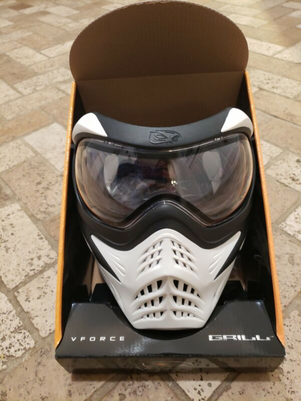 USED VForce V-Force Grill Thermal Goggles Mask - White & Black