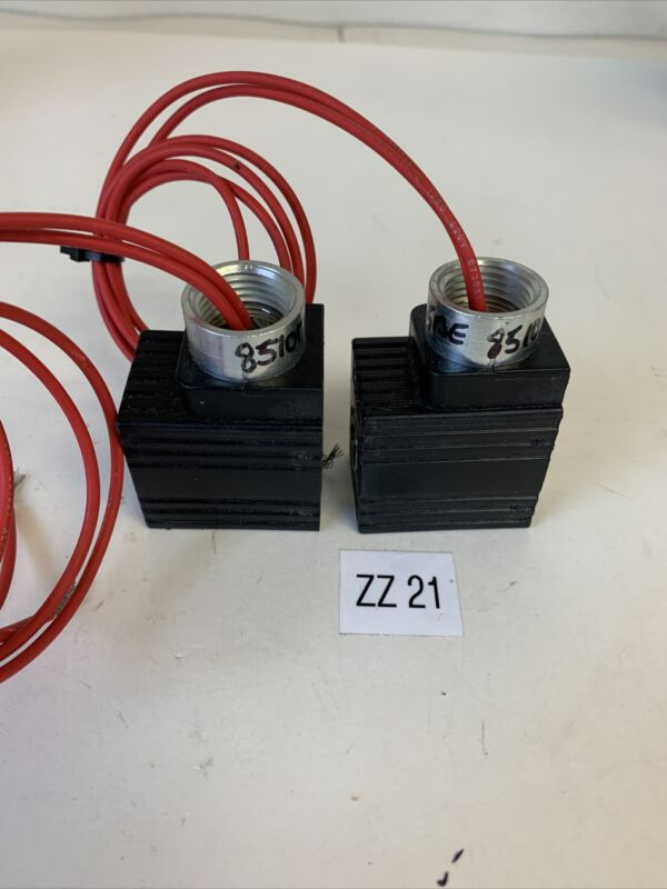 Parker 851017 Solenoid Valve (Lot Of 2) Fast Shipping!