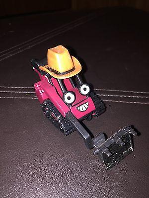 Bob Builder Cowboy Hat Benny Diecast Back Hoe Plastic 2 inch Bulldozer Truck1)# (Toy Builders Hat)