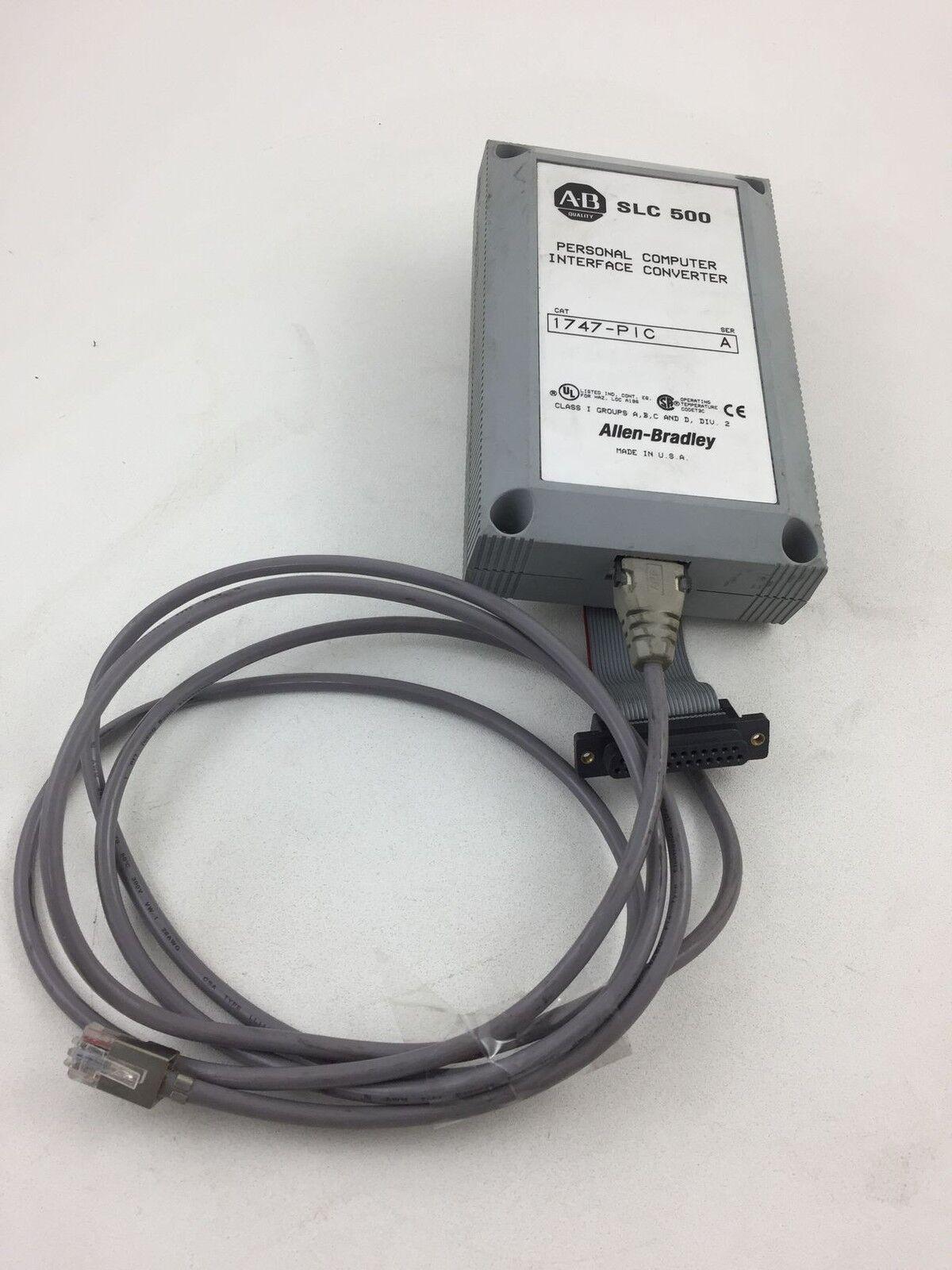 Allen Bradley 1747-pic 1747PIC SLC 500 Interface Module | eBay