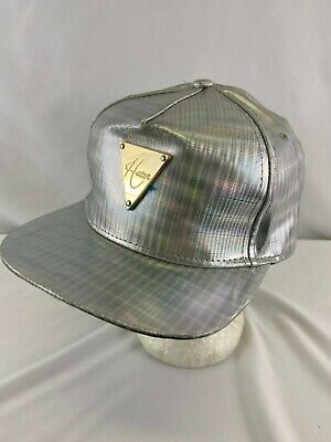Hater Snapback hat Holographic Flatbill  Cap Adjustable