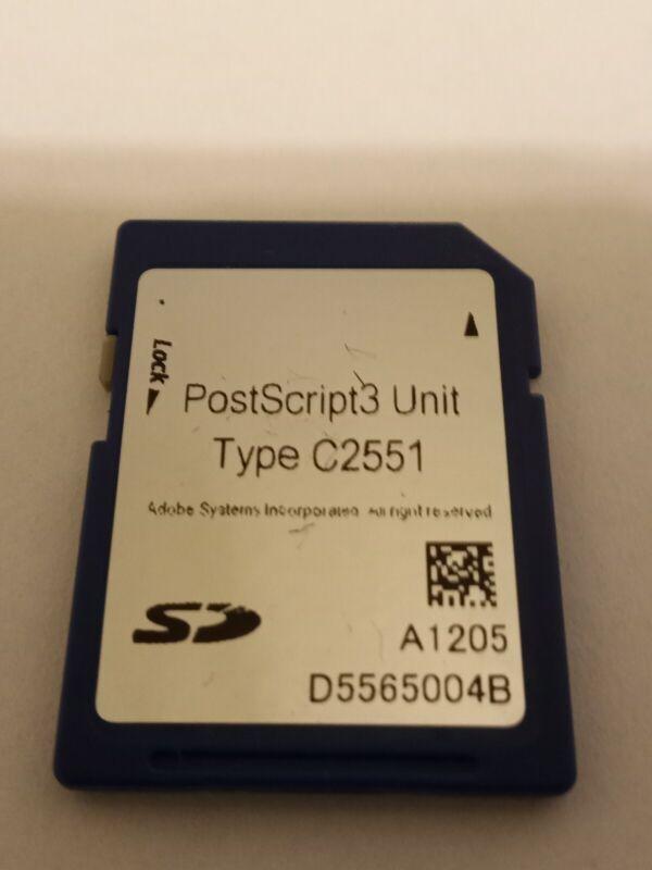 RICOH PostScript3 Unit Type C2551 for MPC2051 & MPC2551