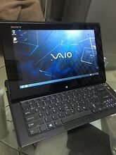 50%OFF! Sony Carbon Fibre DUO 11 Tablet/laptop SSD Office201...