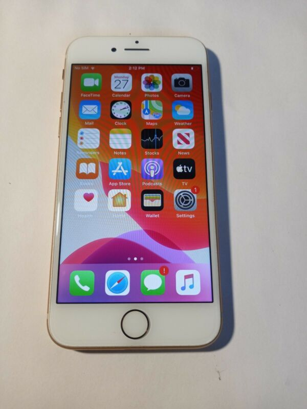 Apple iPhone 8 64GB Unlocked Gold Clean ESN Excellent Condition Smartphone