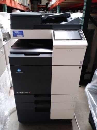 Konica Minolta Bizhub C284e  Printer Copier Scanner Color Mfp Low Meter