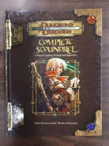 Dungeons and Dragons 3.5: Complete Scoundrel