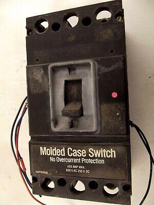 Westinghouse 400a 600v 3p Lb Frame Bk Molded Case Switch Cleaned Tested Eok