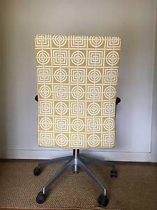 Florence Broadhurst Fabric Upholstered Office Chair Greenwich Lane Cove Area Preview