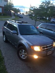 SAFETIED & E-TESTED 2008 Ford Escape ( Limited & AWD)