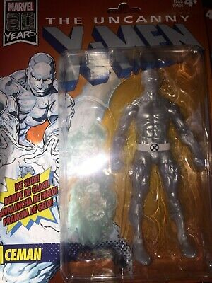 Hasbro Marvel Legends Vintage Wave 3 Uncanny X-Men Iceman New 80th