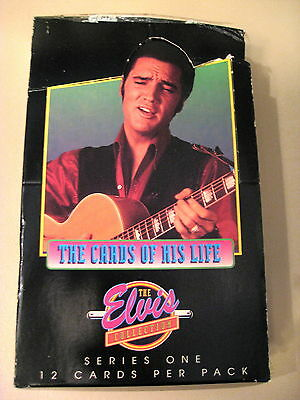 COMPLETE SET OF 412 CARDS -  ELVIS THE CARDS OF HIS LIFE SERIES ONE 1992 - NEW!!