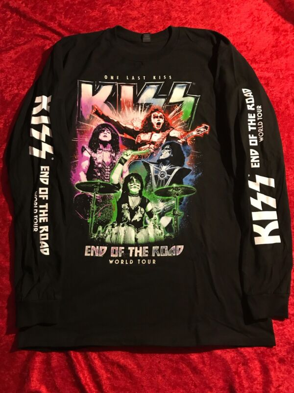 Kiss End Of The Road Tour Long Sleeve Tee! XL