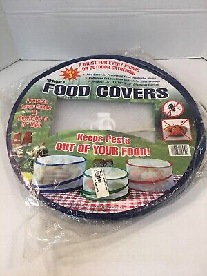 Picnic Food Covers (Food Covers, Set of 3, 12