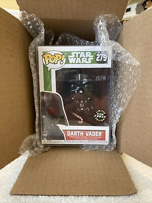 Funko POP! CHASE! Star Wars Darth Vader Holiday Classic Vader With Cane #279