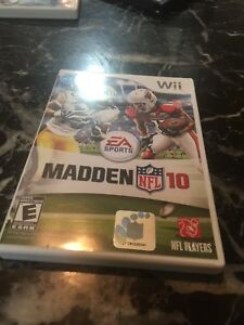 Madden nfl wii football game