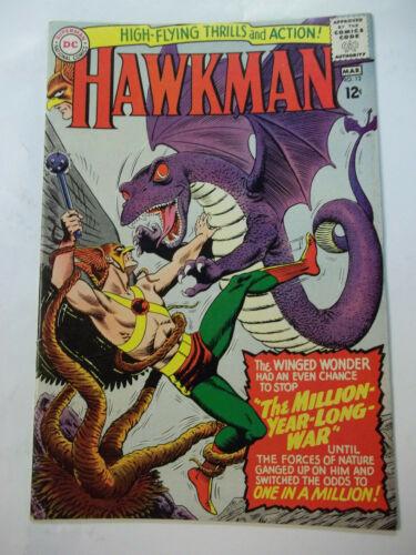 HAWKMAN  #12  (1966)  7.5 VF-