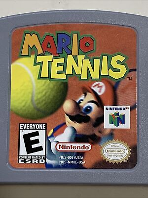 Mario Tennis Nintendo 64 N64 Authentic & Tested Cartridge Only