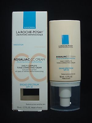 La Roche-Posay Rosaliac CC Cream Tone-Correcting Universal Shade (Damaged Box)