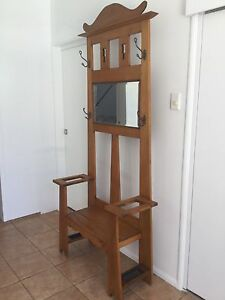 Hallstand  - Antique  - Top Condition Manly Brisbane South East Preview