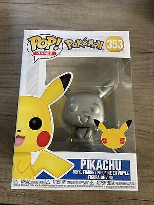 Funko Pop Pikachu Exclusive Vinyl Figure