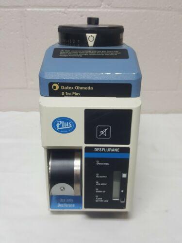 DATEX-OHMEDA D-TEC PLUS DESFLURANE Vaporizer