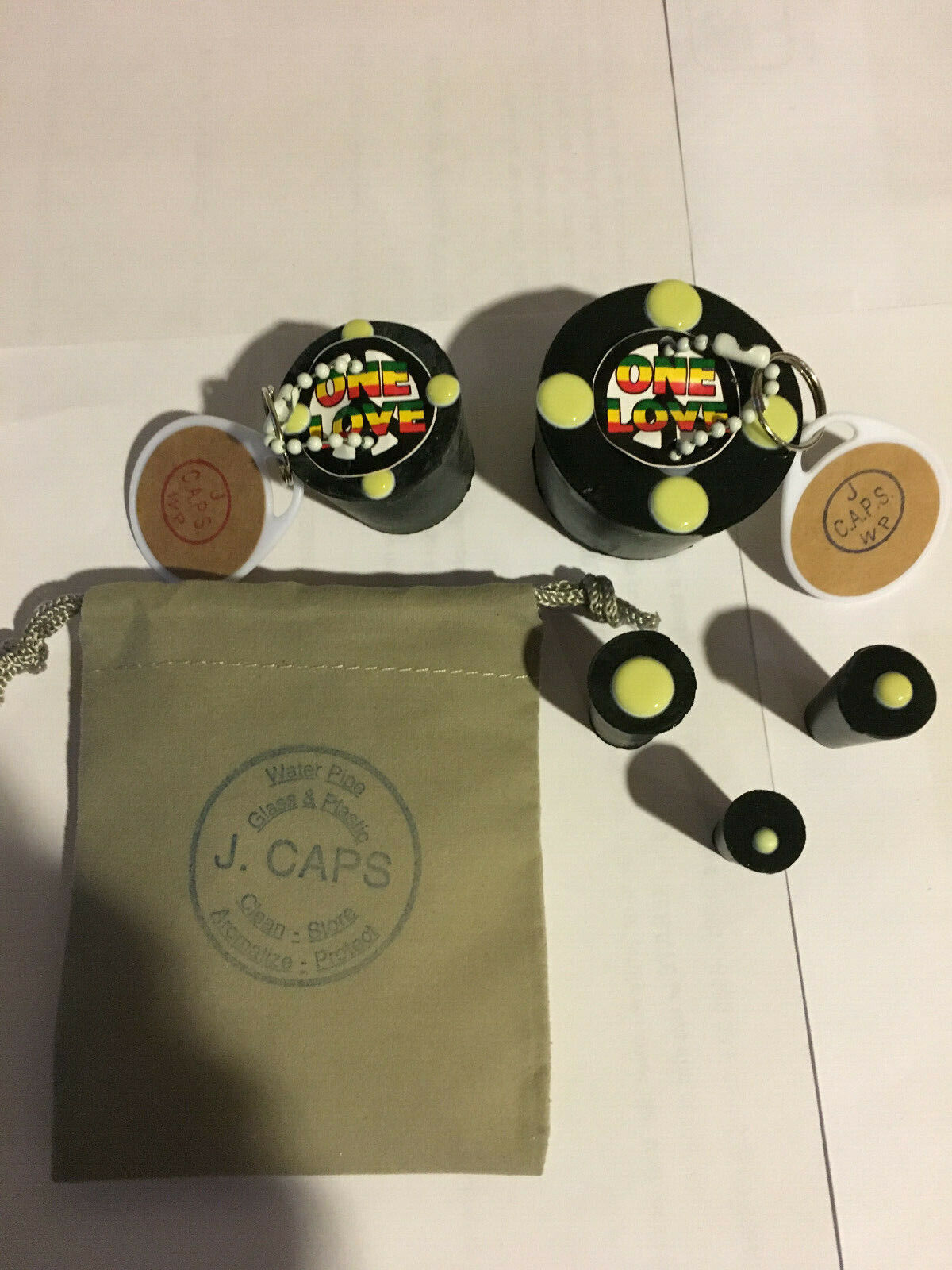 CAPS For Cleaning Storing Bongs  - $9.99