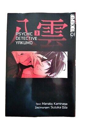 Tokyopop Manga Mysterie PSYCHIC DETECTIVE YAKUMO Band 3