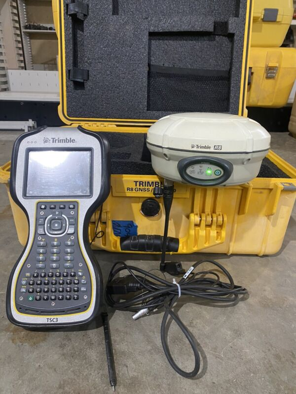 Trimble R8 Model 3 GPS GNSS Glonass 450-470MHz Receiver With Tsc3