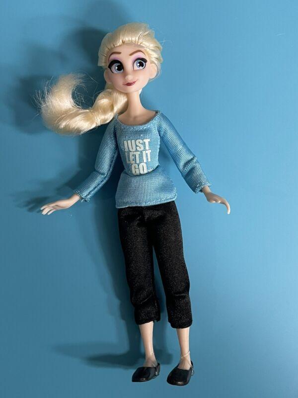 Elsa Comfy Princesses Mini Doll Ralph Breaks the Internet Disney Store Set