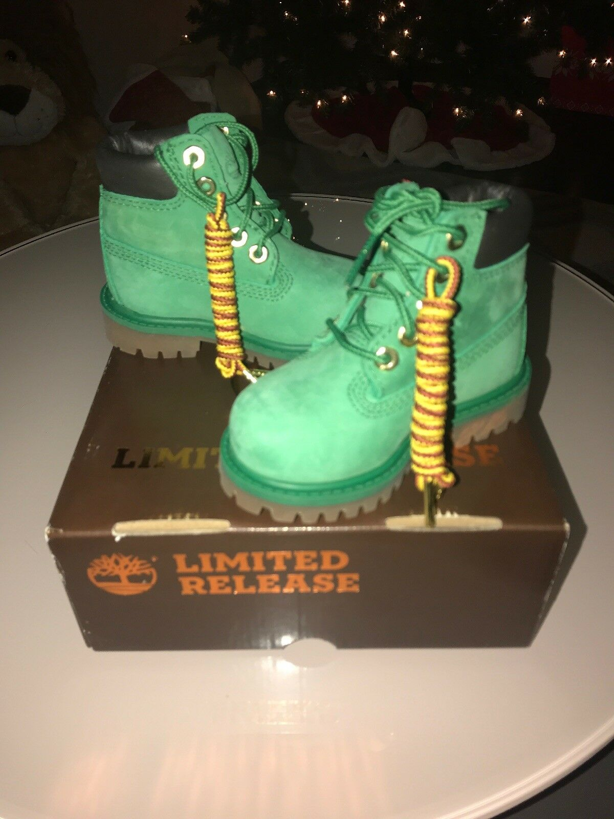 Timberland toddler boots Limited Release Premium Waterproof Green