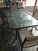 Outdoor Table with chairs Hillarys Joondalup Area Preview