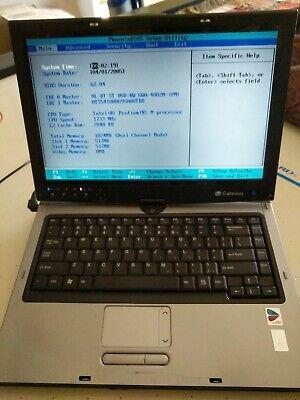 Gateway Convertible Tablet - (Gateway Tablet Laptop CX2618  TA1 convertible)