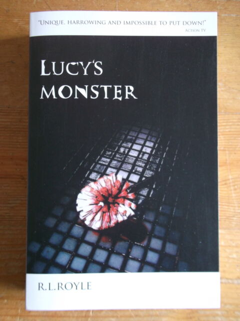 Lucy's Monster - R.L. Royle Signed, Lined & Dated Green Leaf Edition No. 66/100