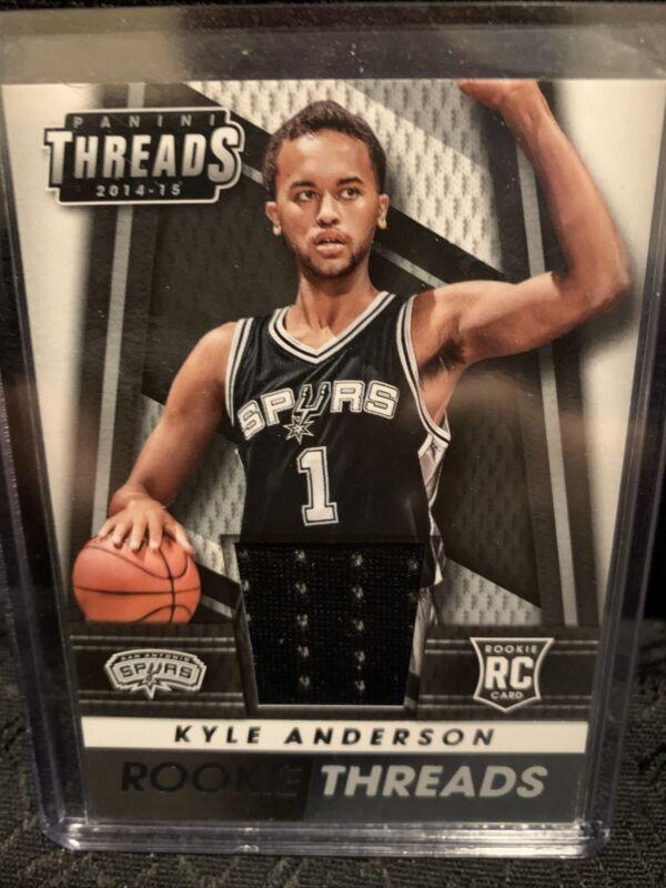 2014-15 Select Basketball #199 Kyle Anderson RC Premier Level San Antonio Spurs