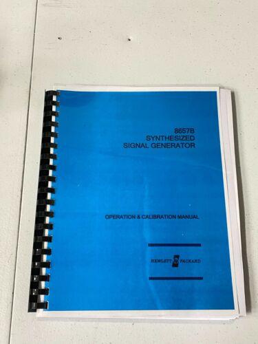 HP 8657B Operation and Calibration Manual