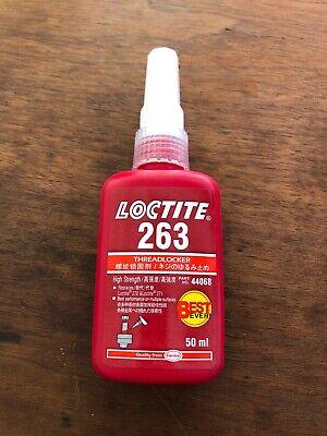 Loctite 263 High Strength Threadlocker High Strength Liquid - 50 Ml - Usa Ship