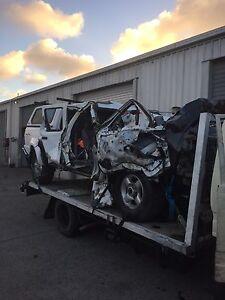 Wrecking 2004 Nissan navara d22 3.0 zd30 turbo diesel manual Burleigh Heads Gold Coast South Preview