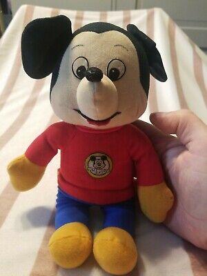 "Vintage Knickerbocker 1976 Mickey Mouse Club Plush Walt Disney Stuffed Doll 12"""