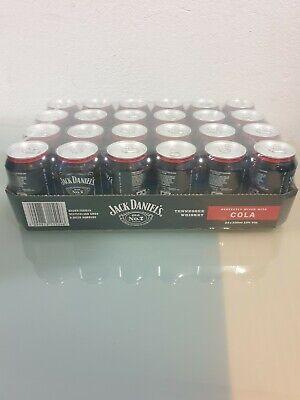 24 Dosen Jack Daniels & Cola 0,33 ltr. 10% Vol. incl. EW Pfand und Bauchtasche