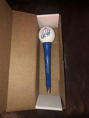 NEW Labatt Blue Light Golf Ball On Tee Tap Handle Hard To Find Rare Beer ManCave