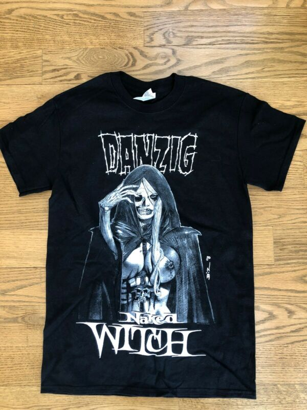 Danzig Tour 2015 Naked Witch T-shirt Size S New
