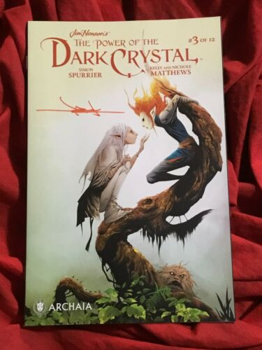 JIM HENSONS POWER OF THE DARK CRYSTAL #3~VARIANT~SIGNED BY JAE LEE~B