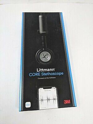 3m Littmann Core Digital Stethoscope - Black Tubing 8480