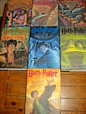 Harry Potter Vol 1-7 Hardcovers w/dust jackets